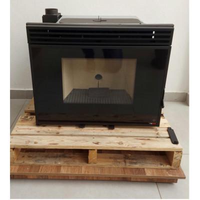 Calefator a Pellet versão inserto (embutir) para aquecimento de até 180m³ com acendimento automático