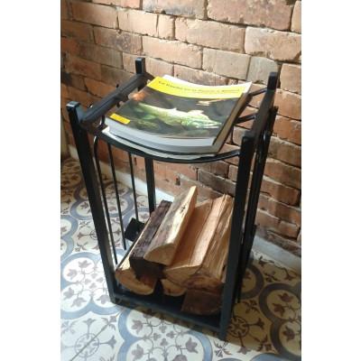 Suporte de lenha + Kit de limpeza Calefator